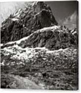 Mountain Track Canvas Print