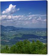 Mountain Veiw Canvas Print