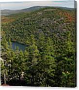 Mountain View, Acadia National Park Canvas Print