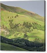 Mountain View From Gothic Road Canvas Print