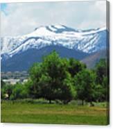 Mountain View - Reno Nevada Canvas Print
