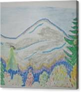 Mountain View.switzerland 1995 Canvas Print