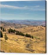 Mountainous Terrain In Central Oregon Canvas Print
