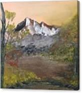 Mountains Afar Canvas Print