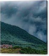Mountains And Clouds 1350t Canvas Print