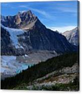 Mountains And Glaciers Canvas Print