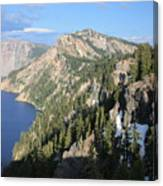 Mountains Around Crater Lake Canvas Print