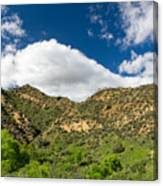 Mountains At Towsley Canyon In Southern California Canvas Print