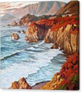 Mountains Bow Down Canvas Print