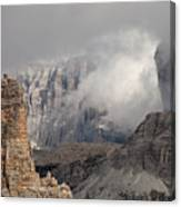 Mountains Depth 1150 Canvas Print