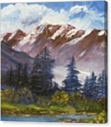 Mountains I Canvas Print