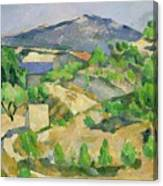 Mountains In Provence Canvas Print