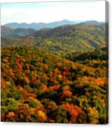Mountains Of Color Canvas Print
