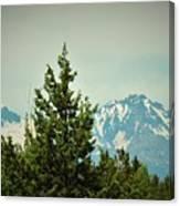 Mountains Of Oregon Canvas Print