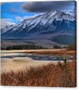 Mountains Over Talbot Canvas Print