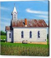 Mountain View Church Canvas Print