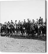 Mounted Guard, 1921 Canvas Print