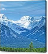 Mounts Inglismaldie And Girouard Canvas Print