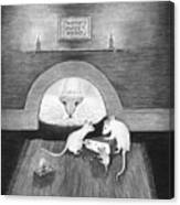 Mouse Hole Canvas Print