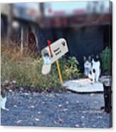 Mouse Patrol Canvas Print