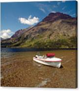 Moutain Lake Canvas Print