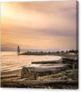 Mouth Of The Fraser Canvas Print