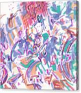 Movement In B Flat Canvas Print