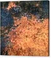 Movement Of Color I  Canvas Print