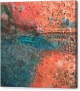 Movement Of Color II Canvas Print