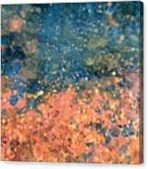Movement Of Color Vii Canvas Print