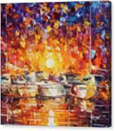 Movement Of The Sea Canvas Print