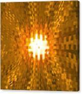 Moveonart Abstract Retro Light Action 2 Canvas Print
