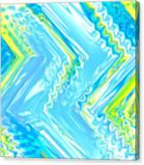 Moveonart Crazy Spring Cool Canvas Print