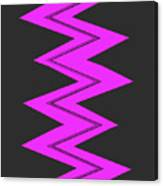 Moveonart Electricpurple Canvas Print