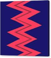 Moveonart Electricred Canvas Print