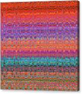 Moveonart Future Indian Voice Wave Quilt Canvas Print