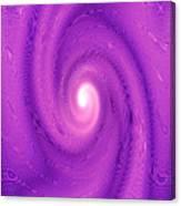 Moveonart Movement In Purple 2 Canvas Print