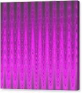 Moveonart Mysterious Violet Curtain Canvas Print