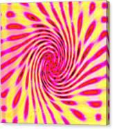 Moveonart Neon Twist 1 Canvas Print