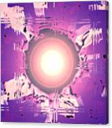Moveonart Oh Is That So    Violet Canvas Print