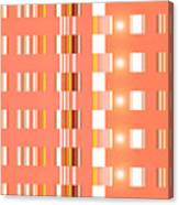 Moveonart Orange Interactive Spiritual Solutions Canvas Print