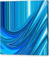 Moveonart The Blue Wave Canvas Print