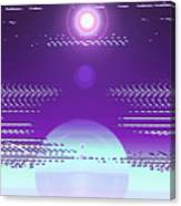 Moveonart Violet Light Of Charitable Consciousness Canvas Print