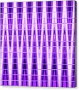 Moveonart Violet Vibes Canvas Print