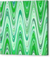 Moveonart Waves Of Good Fortune Canvas Print
