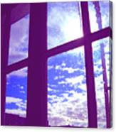 Moveonart Window Watching Series 4 Canvas Print