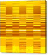 Moveonart Yellow Program Six Canvas Print
