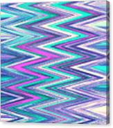 Moveonart Zig Zag Therapy One Canvas Print