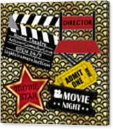 Movie Night-jp3613 Canvas Print