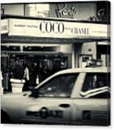 Movie Theatre Paris In New York City Canvas Print